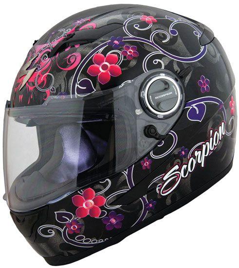 Scorpion EXO-500 Helmet - Dahlia 2 Black