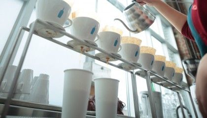 Blue Bottle Coffee - foto: Lalai