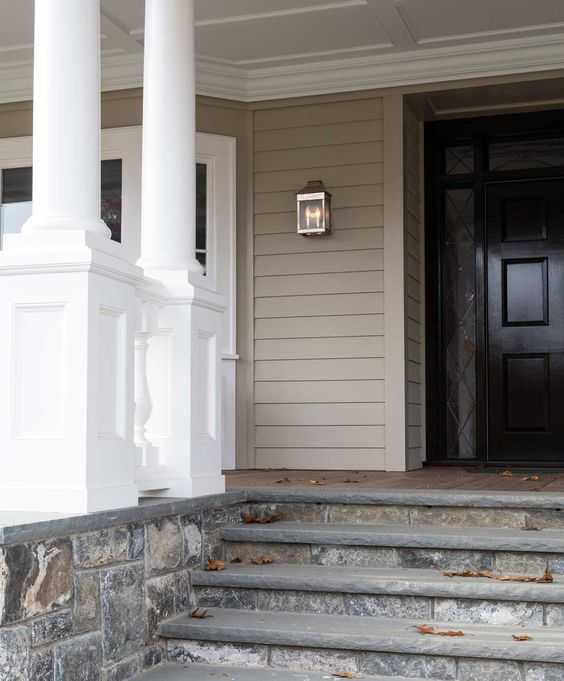 The Home Pinterest Front Porch Steps Electric Co And Porch Steps