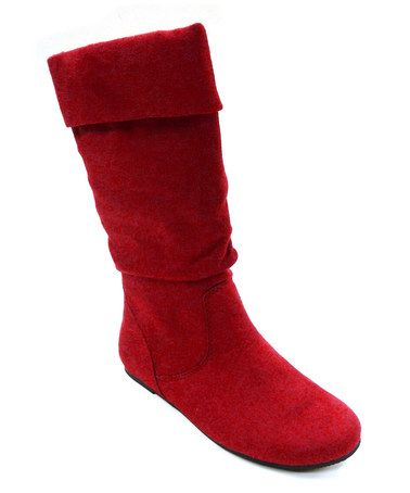 Take a look at this Red Images Boot by SODA on #zulily today!
