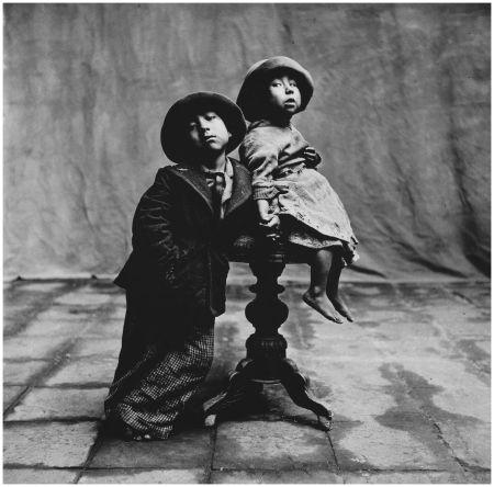 Cuzco Children, Christmas, Peru, 1948 - Irving Penn