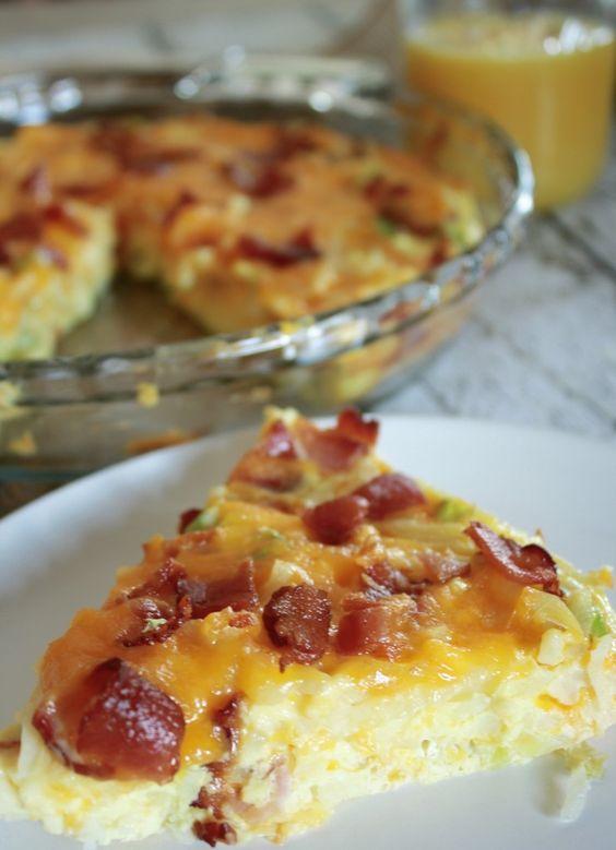 Bacon, Egg & Cheese Breakfast Casserole Recipe