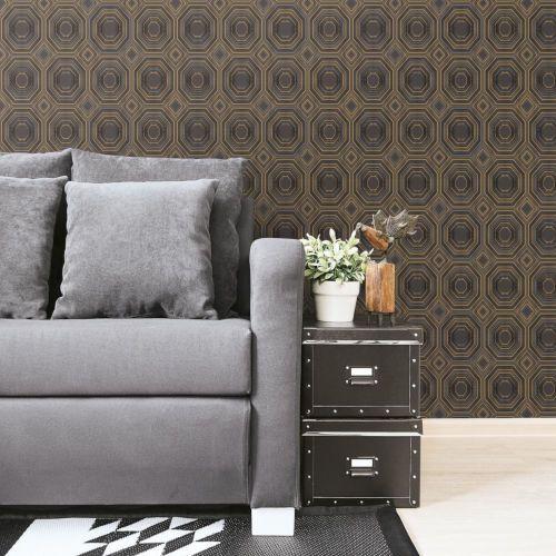 Roommates Decor Bees Knees Black Peel And Stick Wallpaper Rmk11324wp Bellacor Roommate Decor Peel And Stick Wallpaper Dorm Furniture