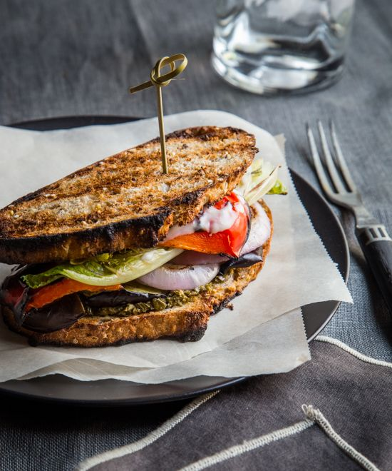 grilled veggie sandwiches #WeekdaySupper #ChooseDreams - Jelly Toast