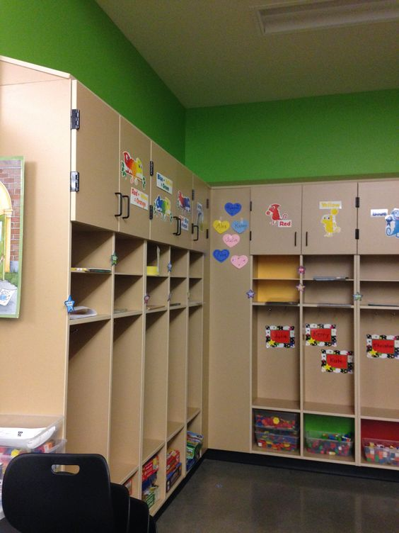 Student Storage Cubbies And Classroom On Pinterest