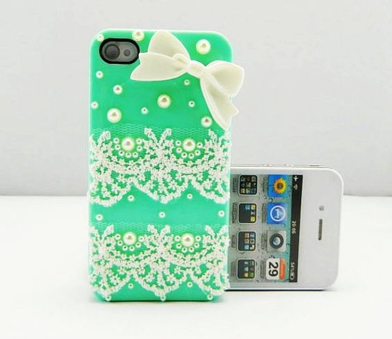 Lace Cute iPhone 4S Cases For Girls