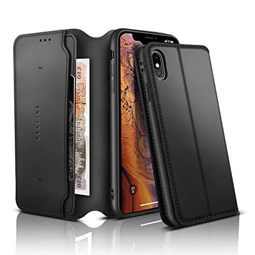 Housse Cuir PU Flip Case Portefeuille Protection Etui Coque Pour Iphone 11 6.1''