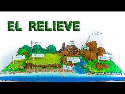 Cómo Hacer Maqueta Del Relieve Y Ecosistemas Proyecto Escolar En Porcelana Fría Plastilina Imagenes De Maquetas Maquetas De Ecosistemas Forma De Relieve