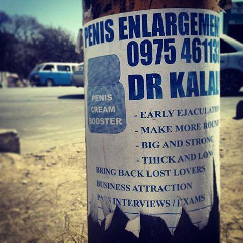 Penis Enlargement Cream - Funny Advertisement! | The Travel Tart Blog