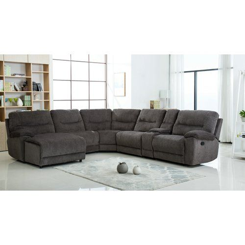 Hai Left Hand Facing Reclining Sectional Reclining Sectional