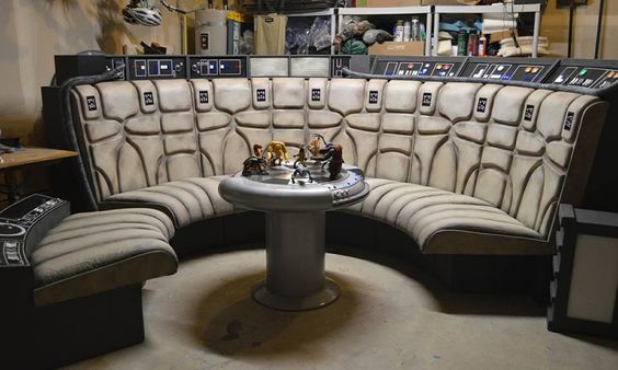 I just finished building a replica of the lounge