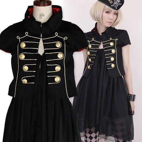 4Way★ナポレオンジャケット Black MiQuri