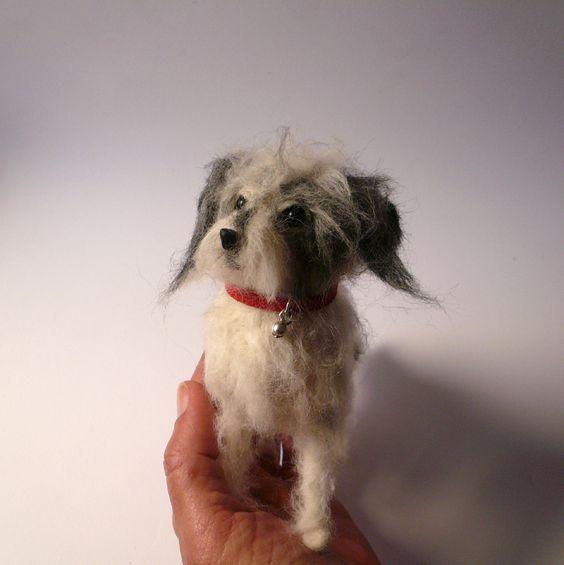 Needlefelted Terrier