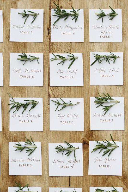J'adore ce plan de table 😍 3