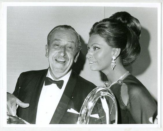 Sophia Loren & Walt Disney