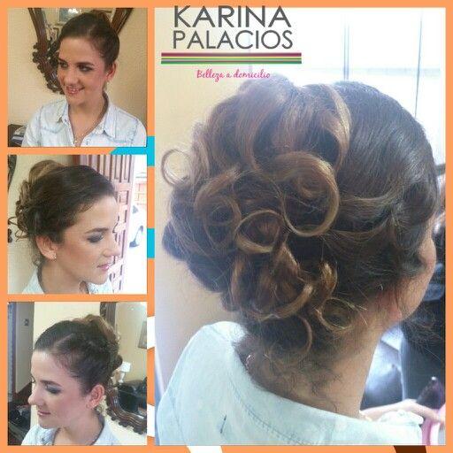 Hair. Karina  Makeup Anneliese