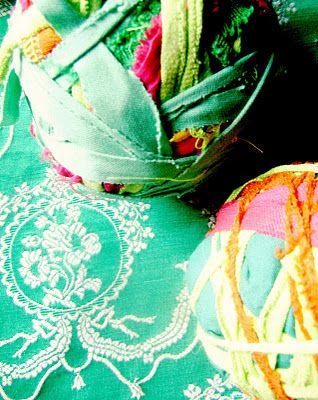 verde, calipso, amarillo, naranjo y fucsia