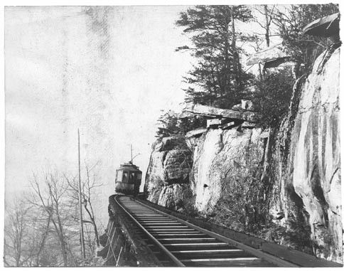 """Incline Railway  ST Elmo """"Yesterday and Today"""""""