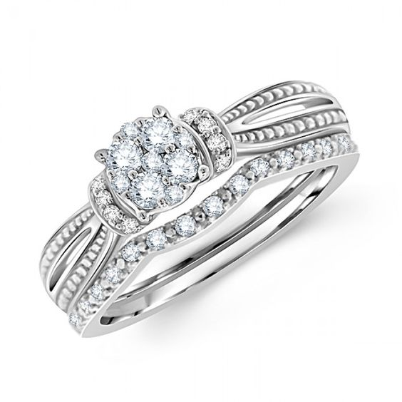 Beautiful Best Wedding Rings For Women Images On Pinterest Round Diamonds Bridal Sets And