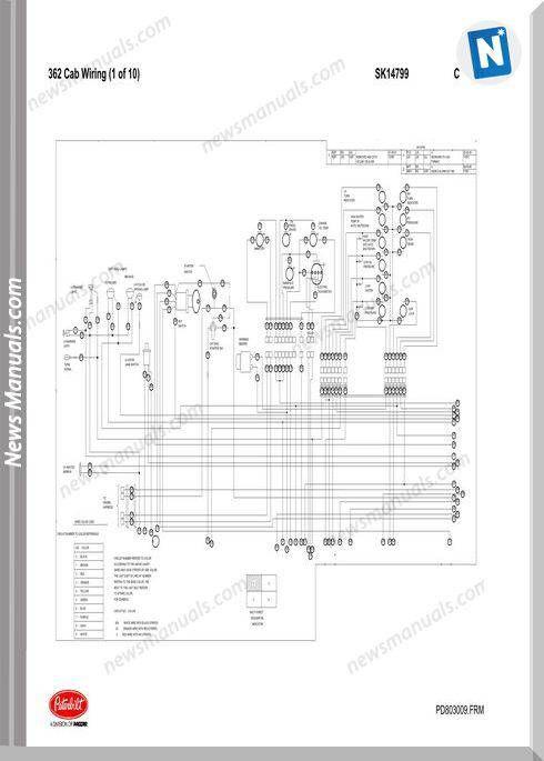 Peterbilt Pb362 Cab Wiring Schematic Sk14799 Peterbilt Cab Boat Plans