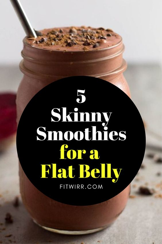 Healthy Smoothie Recipes - 5 Best Smoothies for Weight Loss - Fitwirr
