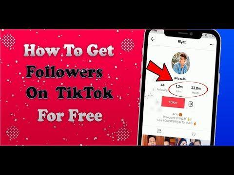 How To Get Free Tiktok Followers Proof Free Tiktok Followers 2020 How To Get Followers How To Get Free Followers App