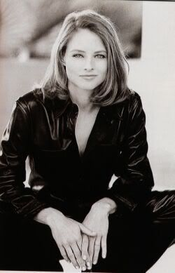 "Jodie Foster I admire her talent, ambition, achievements, and the fact she's not tainted by ""stardom and success"""