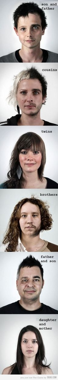 This is freaky - yet cool! - Family: