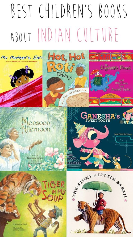 Best children's books about Indian culture from @madhmama: