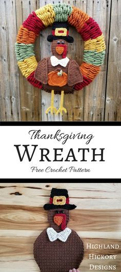 Cute Thanksgiving crochet!