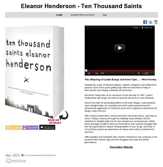 Website 'http://www.quercusbooks.co.uk/ten-thousand-saints/' snapped on Snapito!