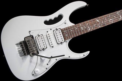 Ibanez Steve Vai Jem Jr Electric Guitar White No Case Jemjr Best Guitar Site Online