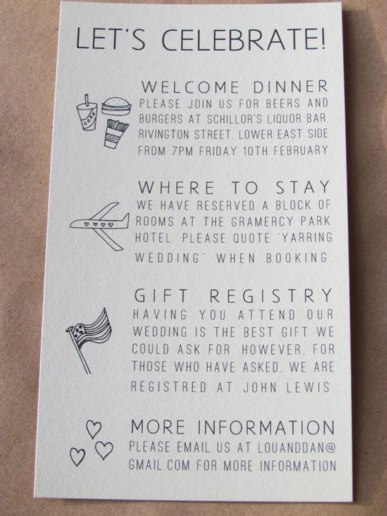 another example of adorable instructions