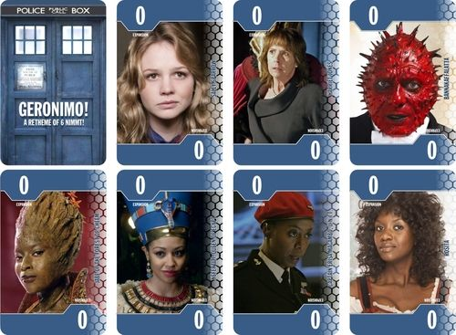 Expansion cards for my home-made Doctor Who version of 6 nimmt! Plus | Image | BoardGameGeek