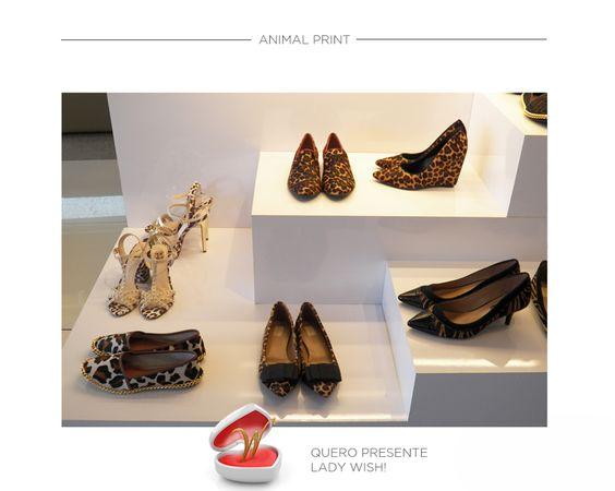 Animal print: tendência, moda, ou usamos mesmo porque amamos?  LADY WISH, loja de calçados femininos - Rua 9, N° 1481, Setor Marista, Goiânia - (62) 3926-0158 - curta mais: www.zzgoiania.com