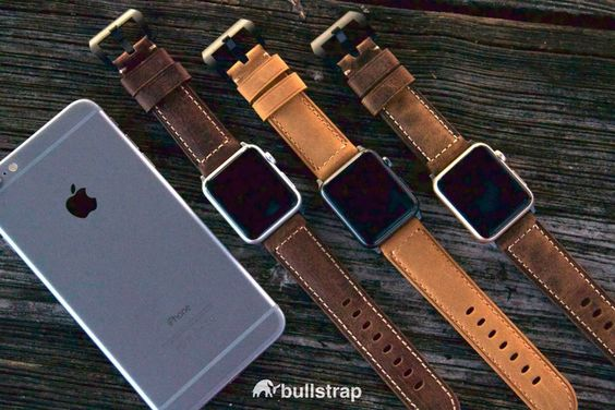 The Italian Leather Strap everyone's been talking about.  Bullstrap®   Premium Straps for Apple Watch