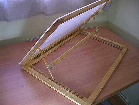 Make it yourself portable drawing table and lightbox