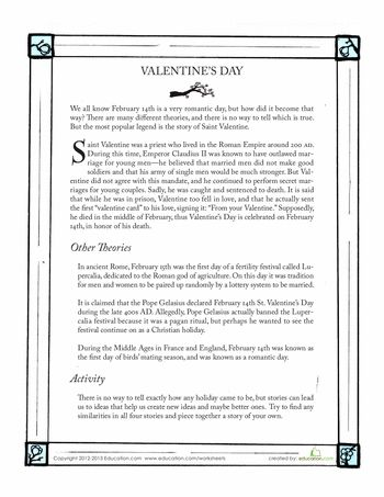history of valentines day history of valentine and middle school reading on pinterest. Black Bedroom Furniture Sets. Home Design Ideas