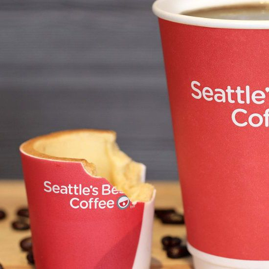 Edible Coffee Cups Are Coming To Fast Food Restaurants #FWx