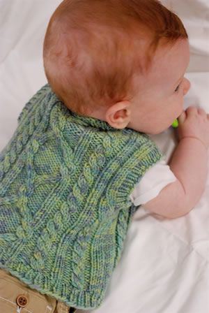 Little Boy Vest Pattern baby and toddler knits ...