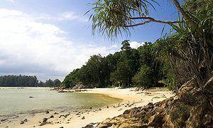 The beach at Cherating