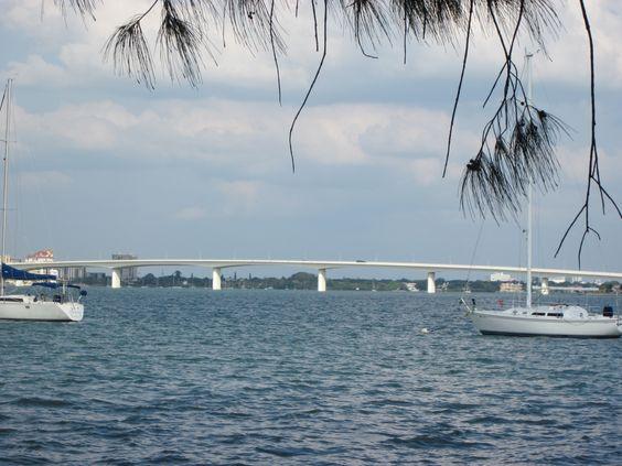 Ringling Bridge in Sarasota....my favorite walk!!