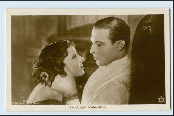 v105/ Rudolph Valentino schöne Ross Foto AK | eBay