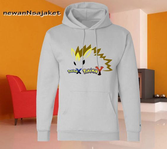 Pokemon X and Y pikachu available for Hoodie by newannsajaket, $30.00