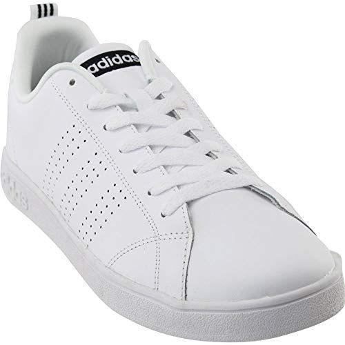 adidas NEO Women\'s Advantage Clean VS W Casual Sneaker,White ...