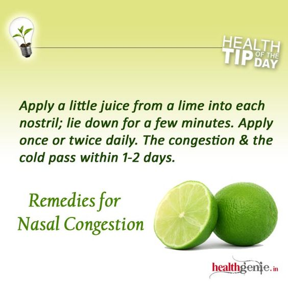 How To Clear Nasal Congestion Nasal Congestion