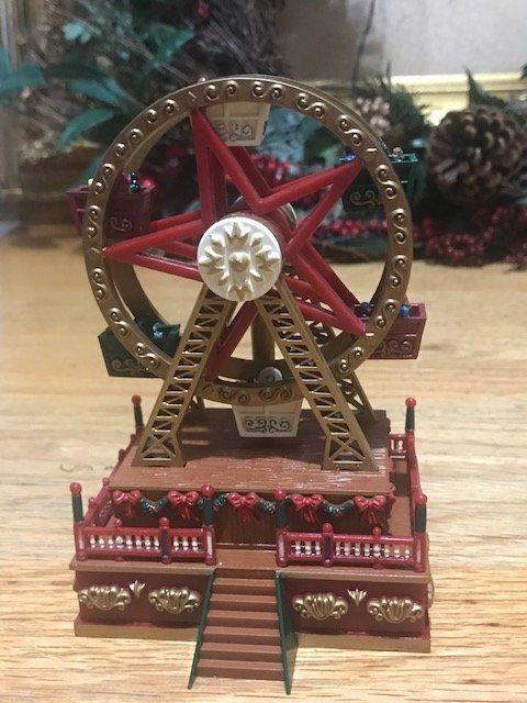 Christmas Ferris Wheel Music Box.Pin On Genesisvintageshop