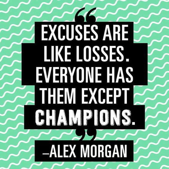 wise words from soccer champion @alexmorgan13: