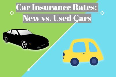 Insurance For Fresh Cars Vs Used Cars Car Insurance Rates Used