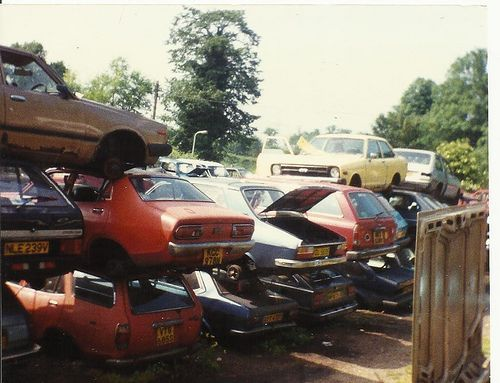 Watford scrap yard 1993